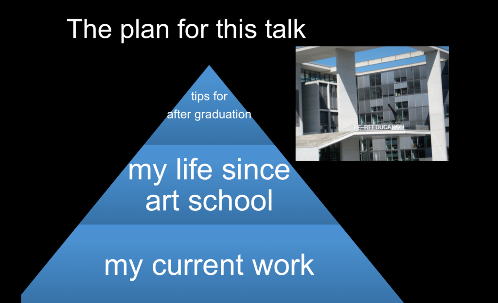 My plan for the talk