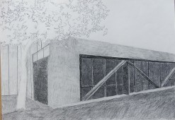 Silicon Valley Series: #2, 2014, graphite on a paper, 42 x 59.4 cm