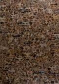 Eyes, 2014, mixed media on paper 100 cm x 80 cm