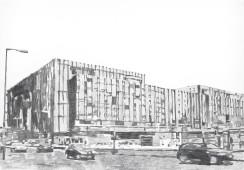Palast der Republik Zwei, 2015, graphite on paper , 70 cm x 100 cm