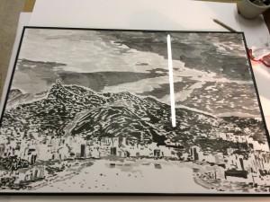 framed Rio de Janeiro