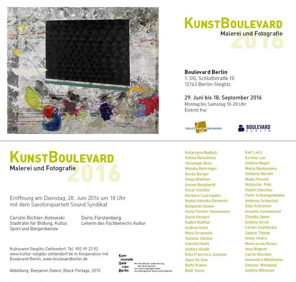Einladung KunstBoulevard